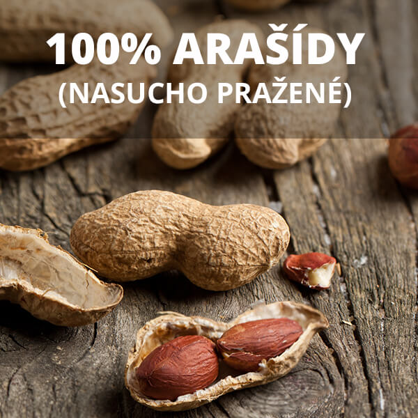 Arašídové máslo - 100% arašídy